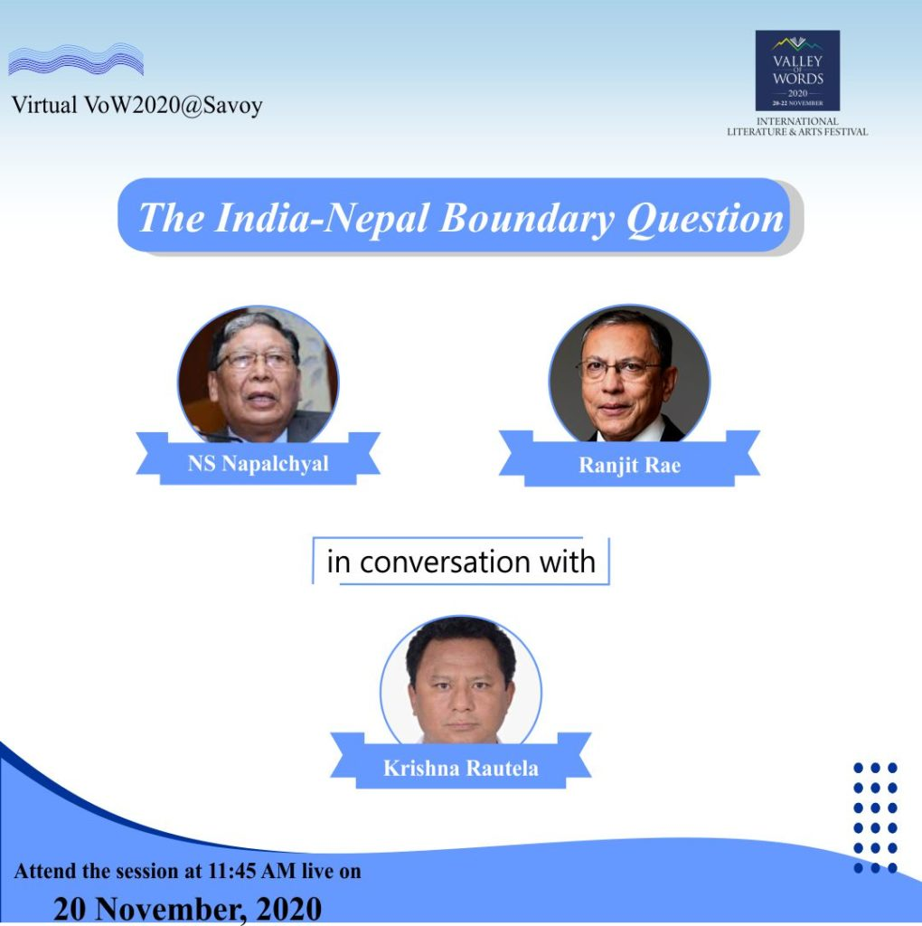 The India-Nepal Boundary Question